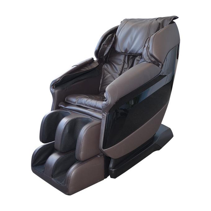 Масажен стол Rexton GJ-6105, кожен, кафяв image