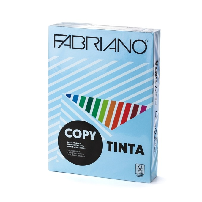 Fabriano Copy Tinta, A4, 80 g/m2, светлосиня, 500 product