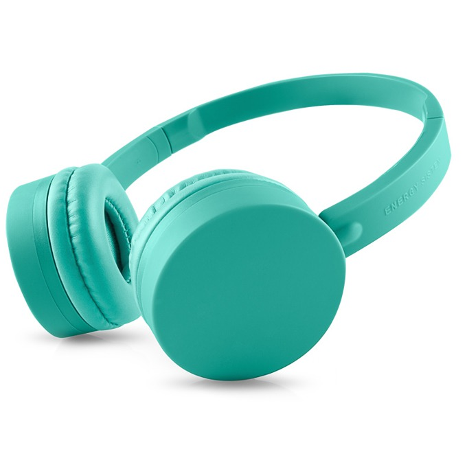 Слушалки ENERGY BT1 BLUETOOTH, микрофон, Bluetooth 3.0, USB, зелени image