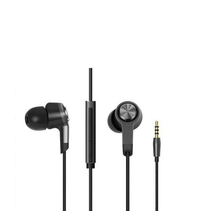 "Слушалки Xiaomi Pistons 3 Earphones ZBW4254CN , микрофон, тип ""тапи"", бързи бутони за контрол, черни image"