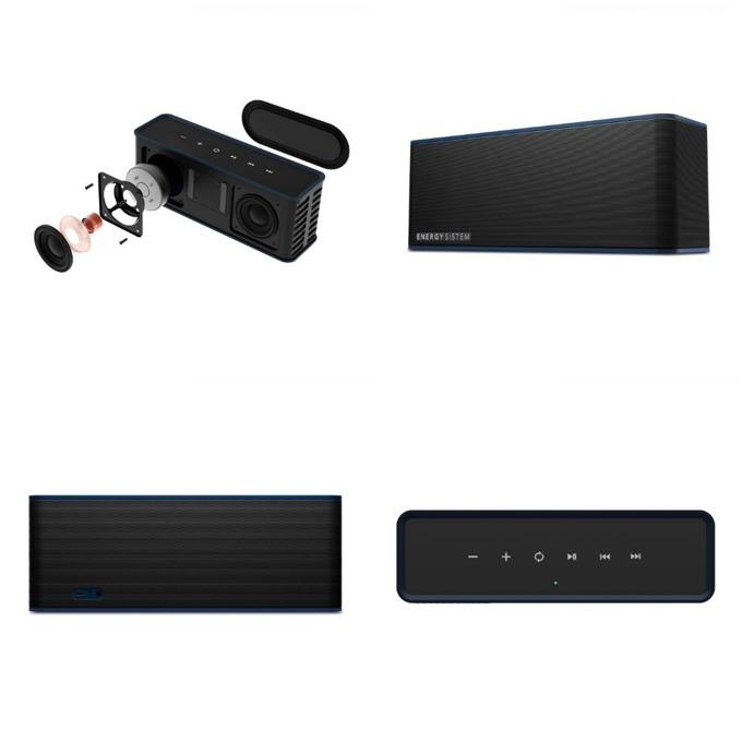 Тонколона Energy Music Box 7, 2.0, Bluetooth до 9 часа време за работа, черна ,микрофон image