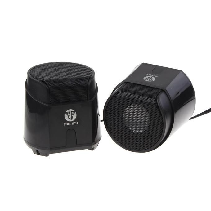 Тонколони, FanTech Hellscream GS201, 2.0, 6W (2x3W), USB, черни image