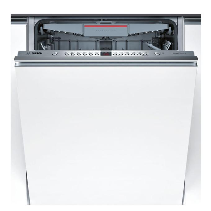 Съдомиялна за вграждане Bosch SMV 46 MX 03E, клас А++, 14 комплекта, 6 програми, 5 температури, бяла  image