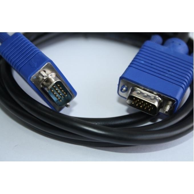 Кабел Digital One VGA SP00080, от VGA(м) към VGA(м), 1.8m, черен image