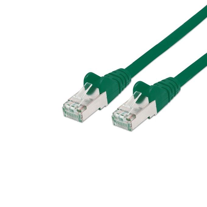 Пач кабел Intellinet, SFTP, Cat.5e, 0.5m, зелен image