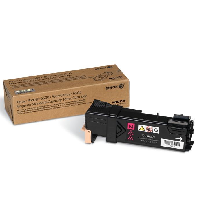 КАСЕТА ЗА XEROX Phaser 6500/WC 6505 - Magenta - P№ 106R01599 - заб.: 1000k image