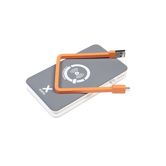 Външна батерия/power bank/ A-Solar Xtorm Wireless Power Bank XB103 8000 mAh, сив image