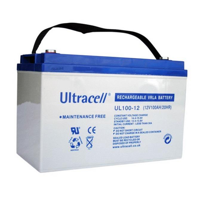Акумулаторна батерия Ultracell 100-12, 12V, 100Ah image