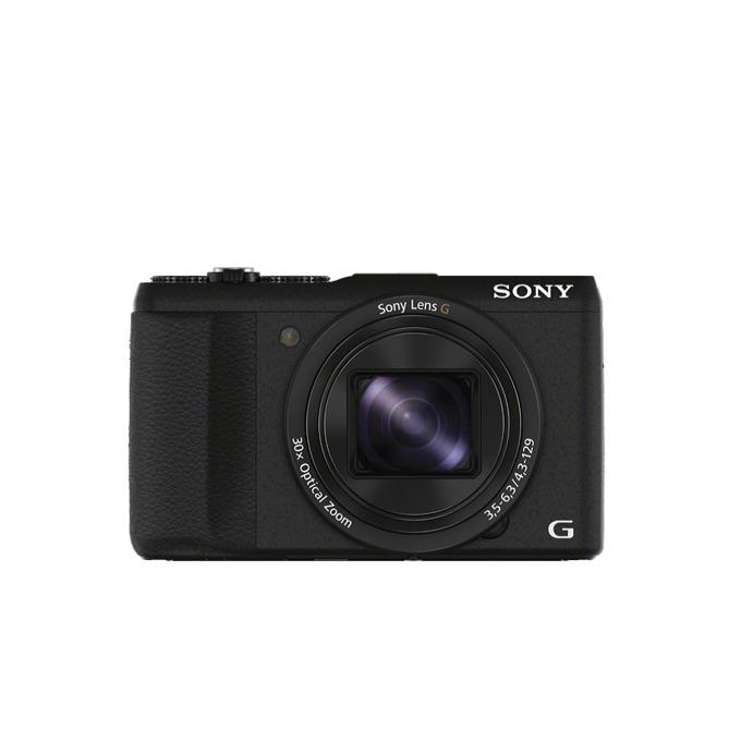 "Sony Cyber Shot DSC-HX60, черен, 30xOptical zoom, 20.4Mpix, 3"" (7.62 cm) екран, SDHC/SDXC, micro USB, micro HDMI image"