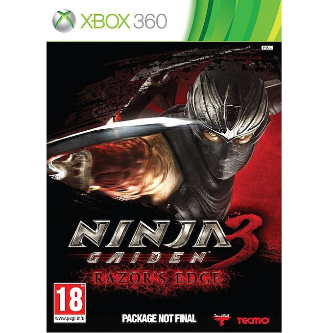 Игра за конзола Ninja Gaiden 3: Razor's Edge, за XBOX360 image