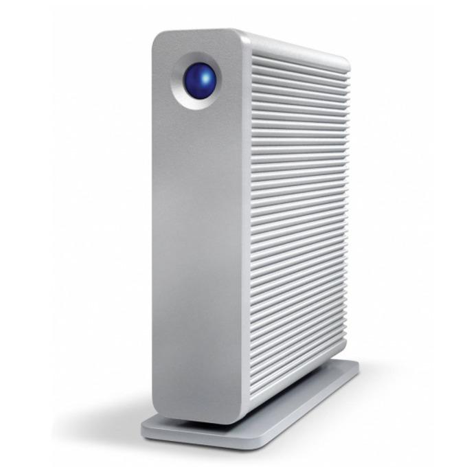 """Твърд диск 3TB LaCie d2 Quadra USB 3.0 (сребрист), външен, 3.5"""" (8.89 cm), USB 3.0, FireWire 800, eSATA image"""