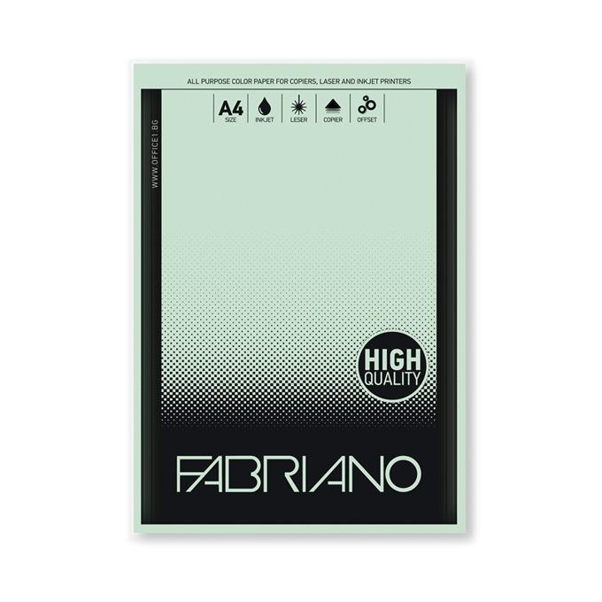 Fabriano A4, 160 g/m2, светлозелен, 50 листа product