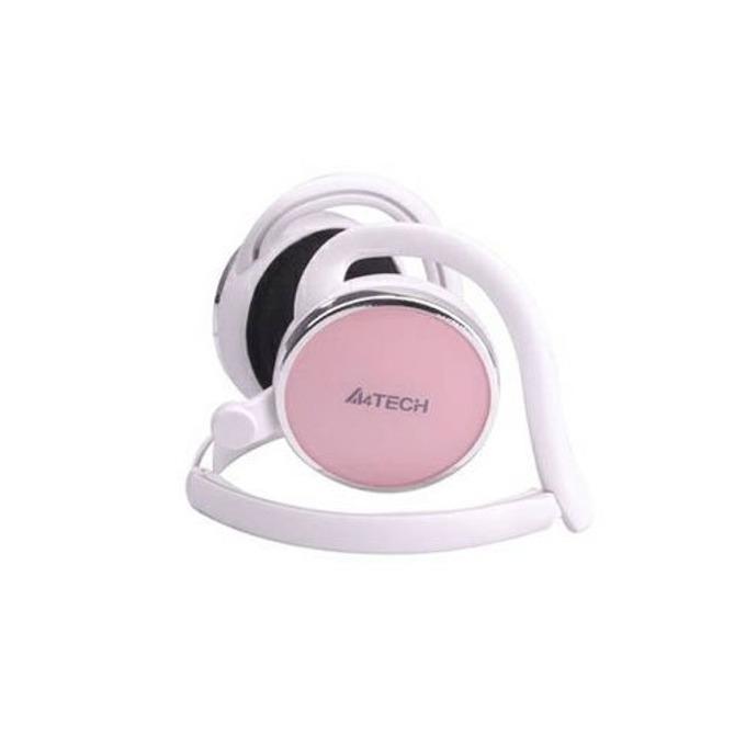 Слушалки A4 T-120I, розови, микрофон image