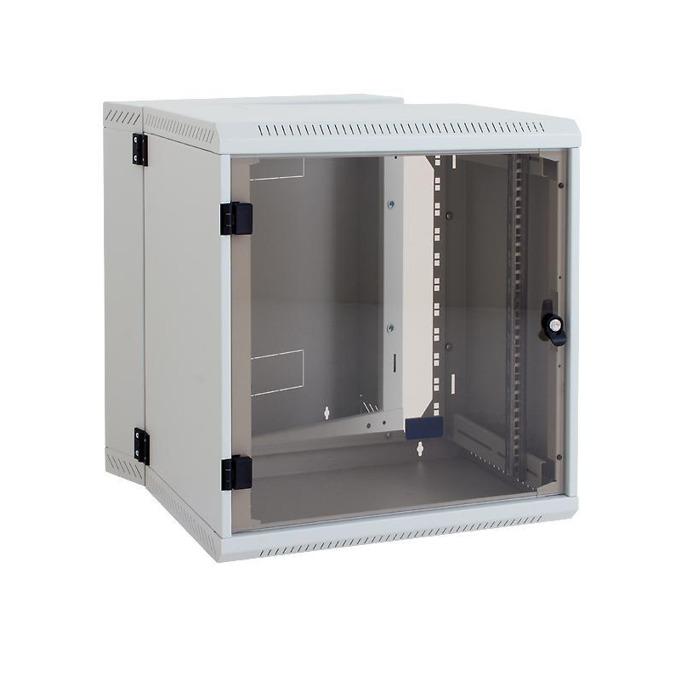 "Комуникационен шкаф Triton RBA-09-AD2, 19"", 9U, 295mm, монтаж на стена, стъклена врата image"