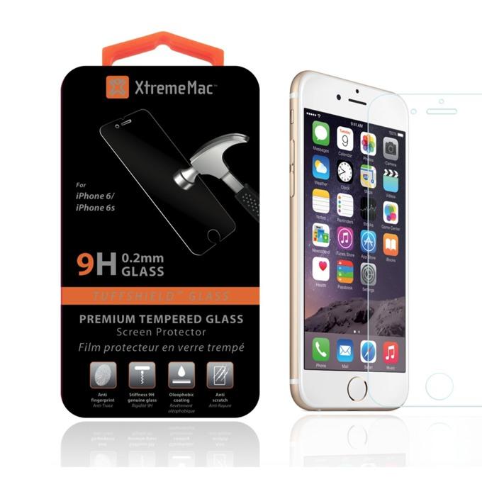 Протектор от закалено стъкло /Tempered Glass/ 0.2mm, XtremeMac за Apple iPhone 6 и iPhone 6S image