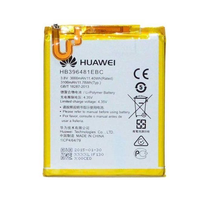 Батерия (оригинална) Huawei HB396481EBC, за Huawei Honor 5x, Honor 6 LTE , 3000mAh/3.8V, Bulk image