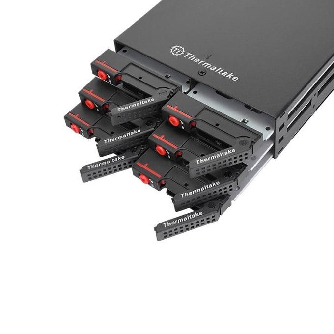 """Чекмедже (rack) за твърд диск Thermaltake Max 2506, 6 x 2.5"""" Multi Bay в 5.25"""" image"""