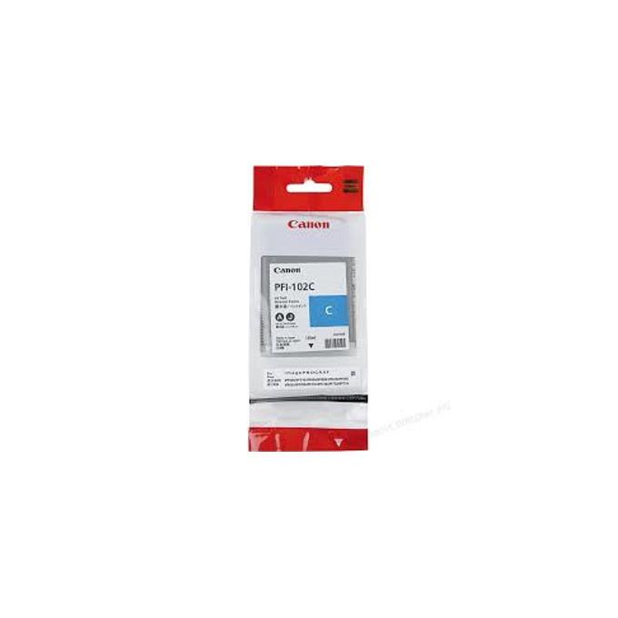 ГЛАВА CANON iPF500/iPF600/iPF700 - Cyan - P№ PFI-102C - заб.: 130ml image