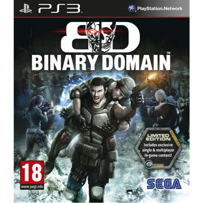 Binary Domain Limited Edition, за PlayStation 3 image