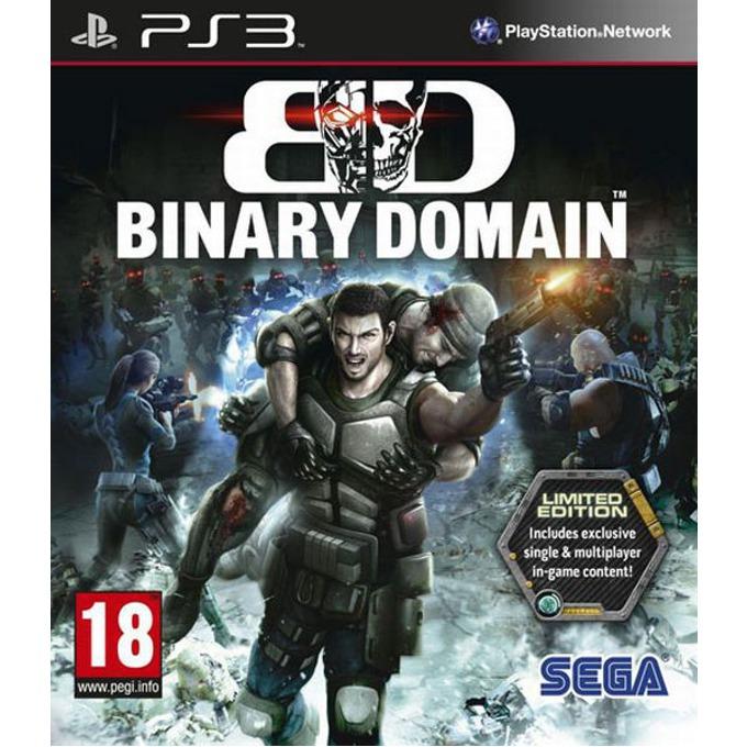 Игра за конзола Binary Domain Limited Edition, за PlayStation 3 image