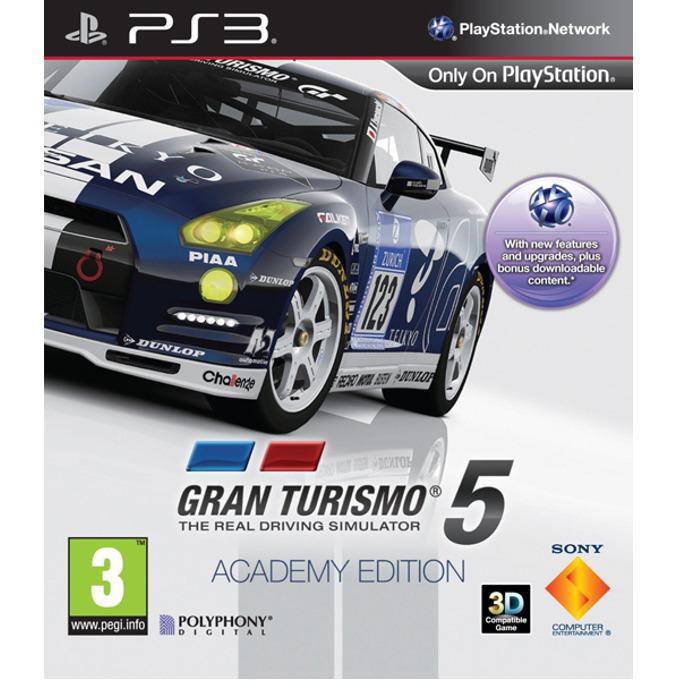 Gran Turismo 5 Academy Edition, за PlayStation 3 image