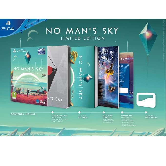 No Mans Sky Special Edition, за PS4 image