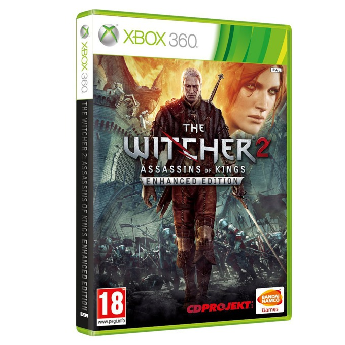 Игра за конзола The Witcher 2: Assassins of Kings Enhanced Edition, за Xbox 360 image