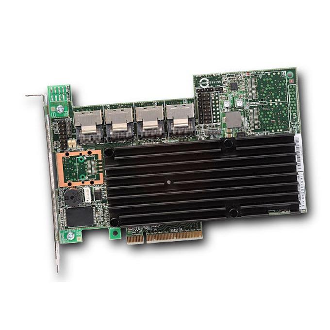 RAID Контролер LSI MegaRAID SAS 9260-16i, PCI-E 2.0 към 4x Mini-SAS (SFF8087), SATA/SAS 6Gb/s, 4 портов, 512MB RAM, поддържа RAID 0, 1, 5, 6, 10, 50, and 60 image