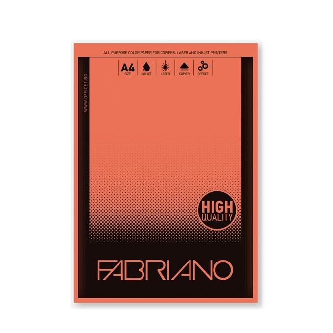 Fabriano Copy Tinta, A4, 80 g/m2, портокал, 50 лис product