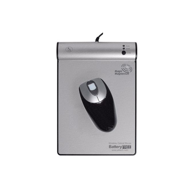 Мишка A4Tech NB-40 Crystal BatteryFree Wireless, безжична, оптична, RFID пад image