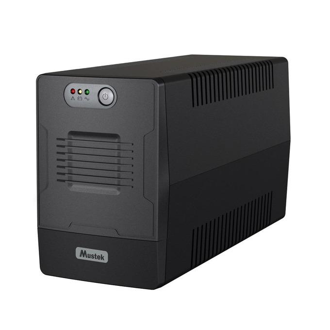UPS Mustek PowerMust 1500 1500-LED-LI-T10, 1500VA/900W, Line Interactive, Mini Tower image