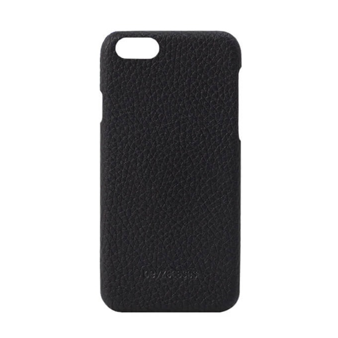 Калъф за Apple iPhone 7/8, поликарбонат/кожа, Beyza Feder, черен image