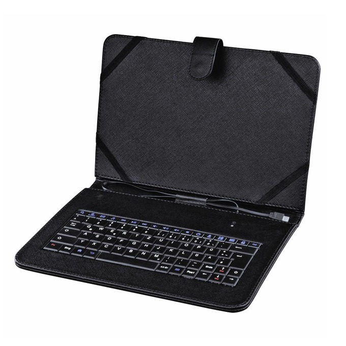 "Калъф за таблет Hama, за лаптопи до 10.1""(25.65cm), с клавиатура, черен image"