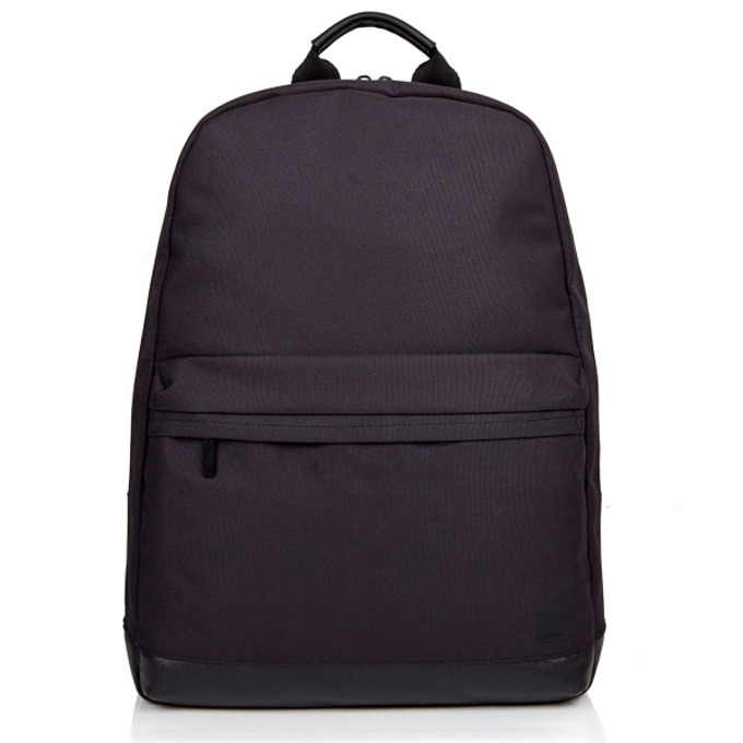 "Раница за MacBook Knomo Drysdale Backpack, 15.4""(38,3 cm), кожена, черен image"