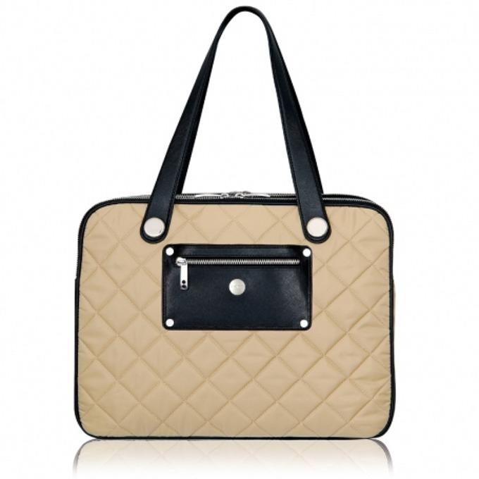 "Чанта за лаптоп Knomo Knomo Portofino 15, до 15"" (38.1 cm), сива image"