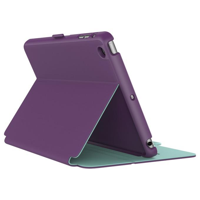 """Калъф тип """"бележник"""" Speck StyleFolio за iPad Mini 4, лилав image"""