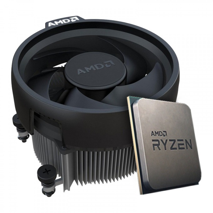 Процесор AMD Ryzen 5 2600 шестядрен (3.4/3.9GHz, 3MB L2/16MB L3 Cache, AM4) Tray, с охлаждане Wraith Stealth image