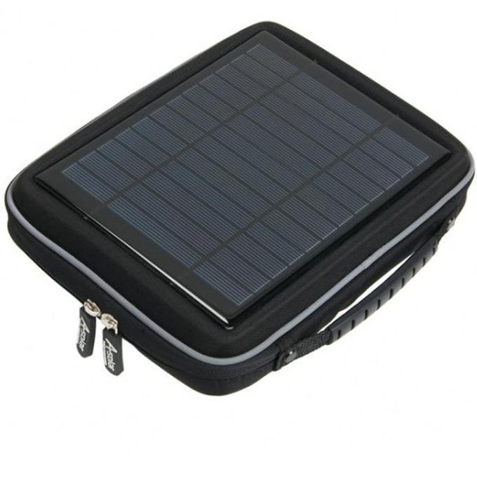 Външна батерия соларна /power bank/ A-solar Power Case for tablets AB400S 11000 mAh, черен image