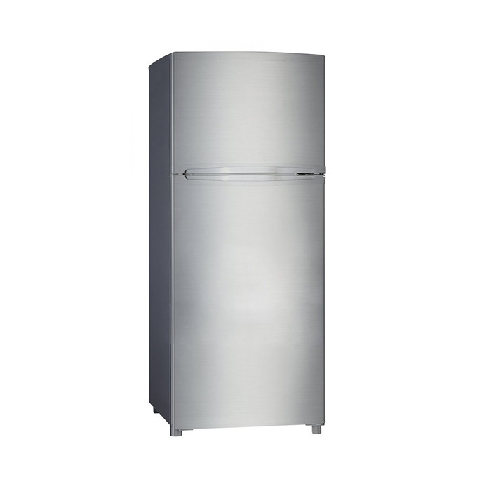 Хладилник с фризер Crown DF 276S, клас А+, 212 л. общ обем, LED осветление, инокс  image