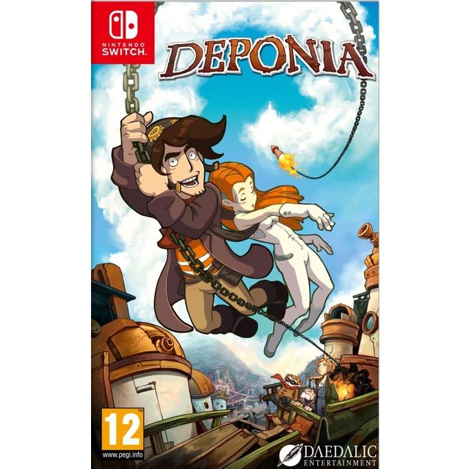 Игра за конзола Deponia, за Nintendo Switch image