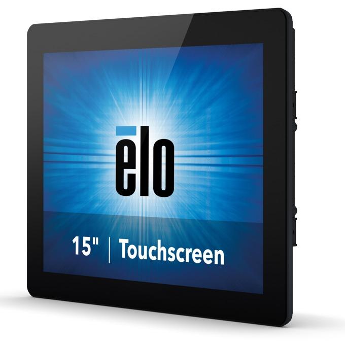 """Монитор Elo E334335 ET1590L-2UWB-0-MT-ZB-NPB-G, 15""""(54.61 cm), TN LED панел, XGA, 5ms, HDMI, DisplayPort, VGA, черен image"""