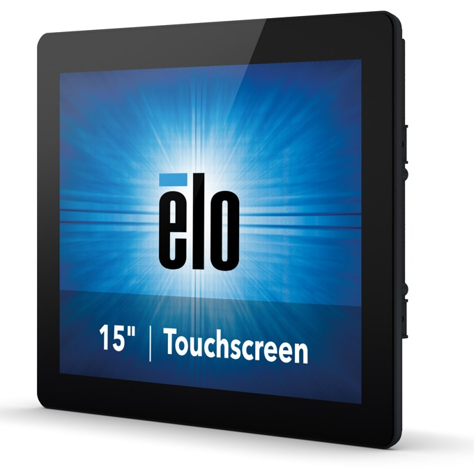 """Монитор Elo E334335 ET1590L-2UWB-0-MT-ZB-NPB-G, 15"""" (54.61 cm) TN панел, XGA, 5ms, DisplayPort, HDMI, VGA image"""