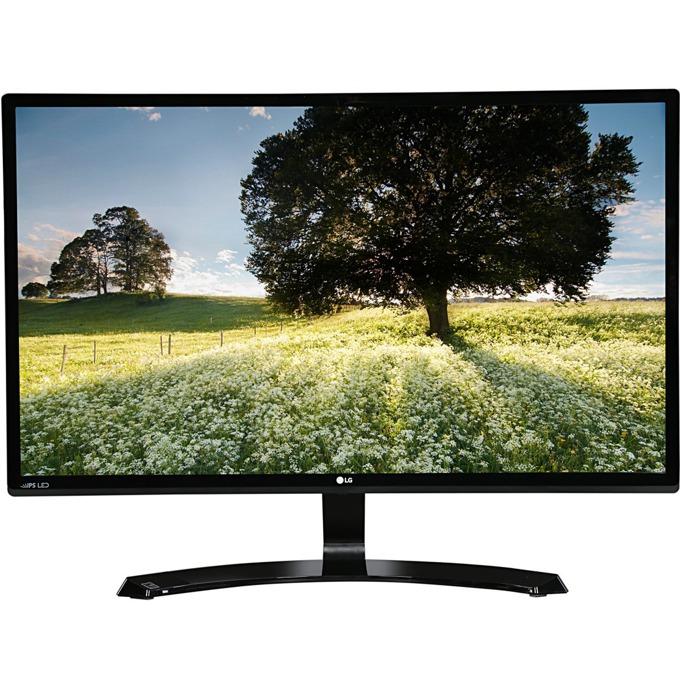 """Монитор LG 27MP58VQ, 27""""(68.58 cm), IPS панел, Full HD, 1920x1080, 5ms GTG, 1000:1, 250cd/m2, Mega DFC, D-Sub, DVI, HDMI image"""