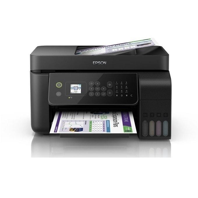 Мултифункционално мастиленоструйно устройство Epson L5190, цветен, принтер/копир/скенер/факс, 600 x 600 dpi, USB, Wi-Fi, A4 image