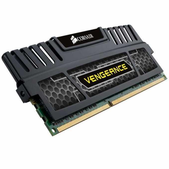 Памет 4GB DDR3 1600MHz Corsair Vengeance, CMZ4GX3M1A1600C9, 1.5V image