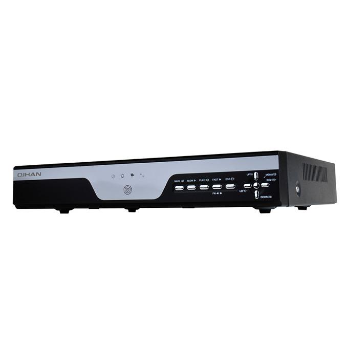DVR Qihan QH-D7116EM, аналогов HD (AHD) видеорекордер 16-канален, 16k@960H/D1, HDMI, VGA, ALARM, LAN, up to 2x2TB HDD image