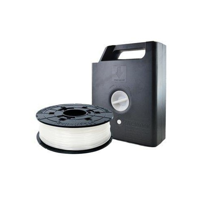 Консуматив за 3D принтер XYZprinting, PLA касета с чип, 1.75mm, бял, 600 g image