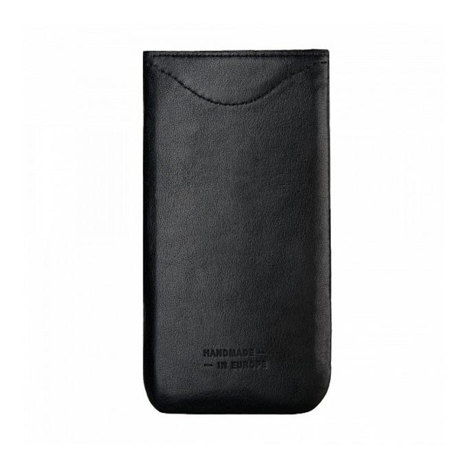 """Калъф """"джоб"""" Bugatti SlimFit, естествена кожа, ръчна изработка, за Samsung Galaxy Note 4, черен image"""