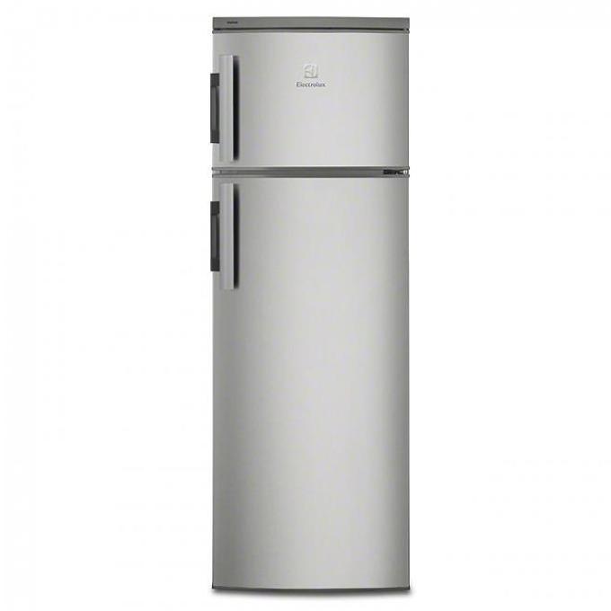 Хладилник с фризер Electrolux EJ2301AOX2, клас A+, 228 л. обем, свободностоящ, 227 kWh/годишно, автоматично размразяване, инокс  image