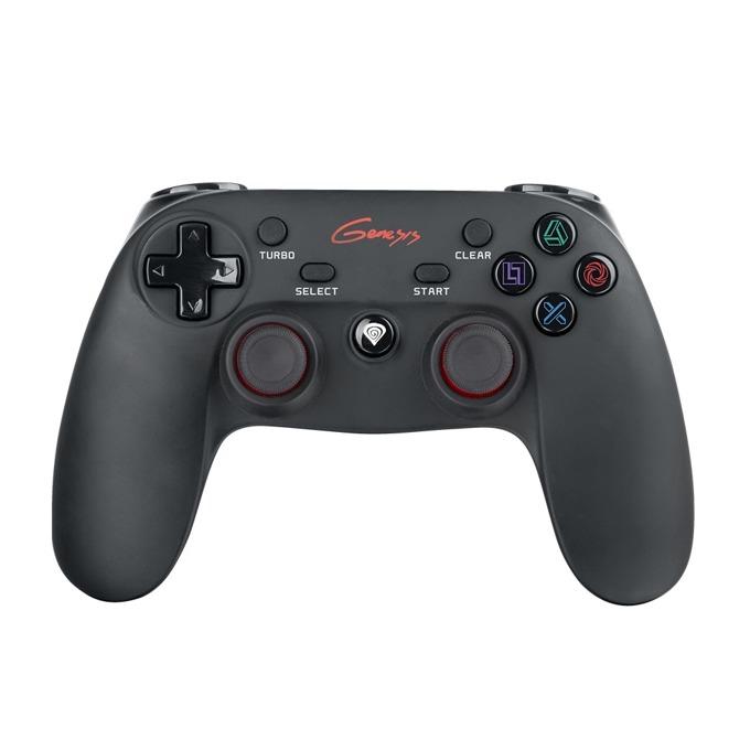 Геймпад Natec Genesis PV65, безжичен, за PC/PS3, черен image